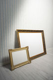 Baroque frames Stock Photography