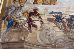 Baroque fresco Royalty Free Stock Images