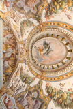 Baroque fresco of Torrechiara Castle Royalty Free Stock Image