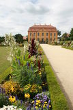 Baroque Garden. The Baroque Garden Großsedlitz was created in 1719 and is considered one of the greatest baroque gardens in Germany. With his many avenues Royalty Free Stock Image