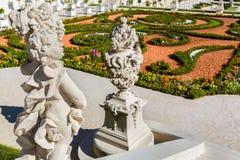 The baroque garden of Bratislava Castle Royalty Free Stock Photos