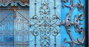 Baroque gate royalty free stock photography