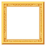 Baroque gold Royalty Free Stock Photo