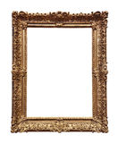Baroque Gold Frame Stock Photo