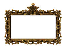 Baroque Gold Frame. Good for interior decoration and high resolution printing Stock Photography