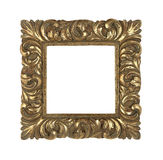 Baroque golden frame Royalty Free Stock Photo