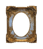Baroque grunge frame Stock Images