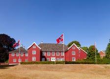 Baroque Herregarden Manor House Larvik Vestfold Norway Scandinav stock image