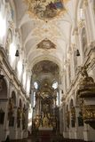 Baroque High Altar of old Peter`s Church Munich Royalty Free Stock Photography
