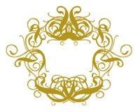 Baroque II do frame Imagens de Stock Royalty Free