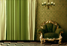 Baroque Interior. Royalty Free Stock Image