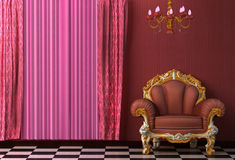 Baroque Interior. Stock Images