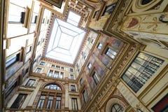 Baroque interior courtyard Royalty Free Stock Photo