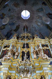 Baroque Interior of the Smolenskaya Church - Holy Trinity - St. Royalty Free Stock Photos