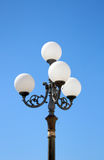 Baroque Lamp post Royalty Free Stock Images