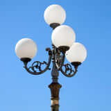 Baroque Lamp post Stock Image