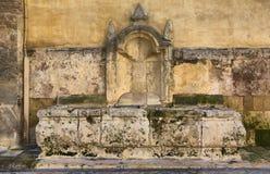 Baroque Limestone fountain Stock Photography
