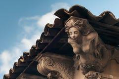 Baroque mascaron Royalty Free Stock Image