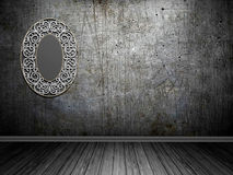 Baroque mirror Stock Photography