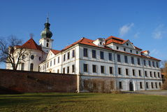 Baroque monastery in Brevnov Stock Photography