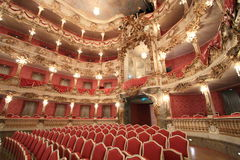 Baroque opera house Stock Photos