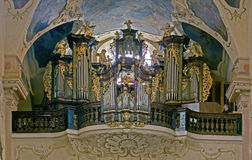 Baroque organ Royalty Free Stock Photo