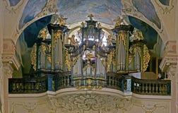 Baroque organ Royalty Free Stock Photo