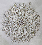 Baroque ornament circle Stock Photos