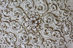 Baroque ornament detail decoration Stock Images