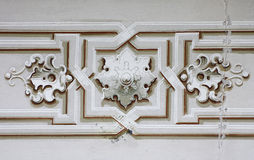 Baroque ornament strip Royalty Free Stock Photography