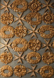 Baroque ornamentation of a cathedral Royalty Free Stock Photo