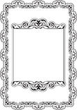 Baroque ornate best frame Royalty Free Stock Photography