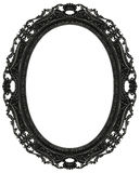 Baroque oval frame Royalty Free Stock Photo