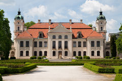 Baroque palace Royalty Free Stock Photos