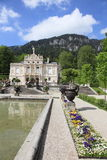 Baroque Palace garden of Linderhof Stock Image