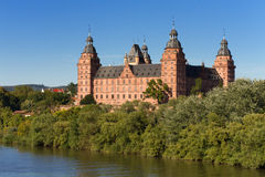 Baroque Palace Johannisburg Stock Photography