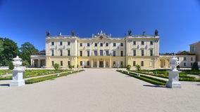 Baroque  palace Stock Images