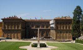 Baroque Palace - Palazzo Pitti Stock Photo