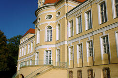 Baroque palace  in Rogalin Stock Photography