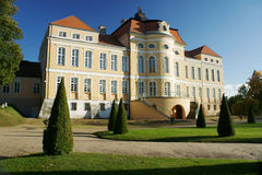 Baroque palace  in Rogalin Stock Photo