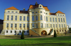 Baroque palace  in Rogalin Royalty Free Stock Photos