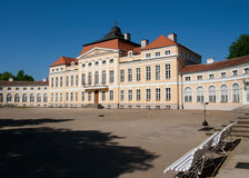 Baroque palace (Rogalin, Poland) Royalty Free Stock Images