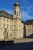 Baroque palace in Werneck, Germany. Royalty Free Stock Photo