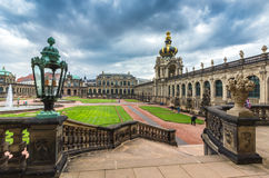 Baroque palace Zwinger - Dresden, Germany Stock Photography