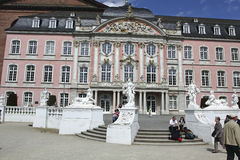 baroque Palais in Trier Royalty Free Stock Photos