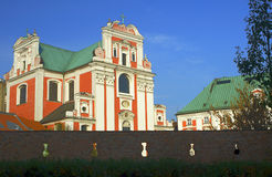 Baroque parish church Royalty Free Stock Images