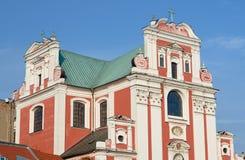 Baroque parish church in Poznan Royalty Free Stock Photography
