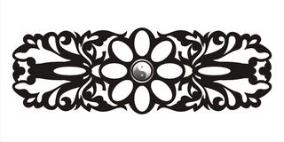 Baroque pattern Royalty Free Stock Image