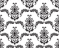 Baroque pattern Stock Photo