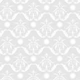 Baroque pattern. Including seamless sample in swatch panel Stock Image